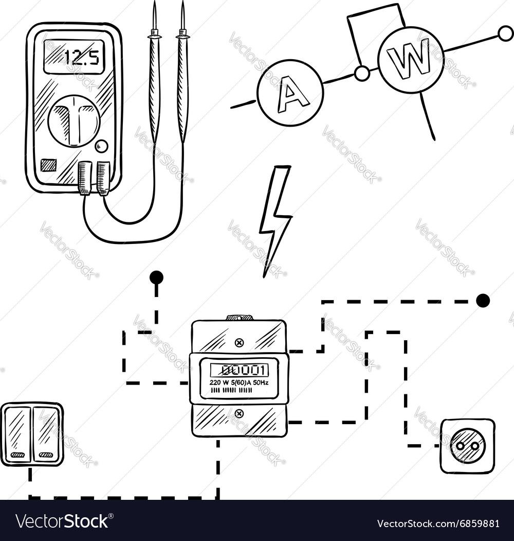 wrg 7045  circuit diagram voltmeter