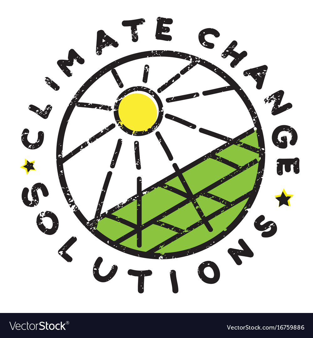 Climate Change Sun Royalty Free Vector Image Vectorstock