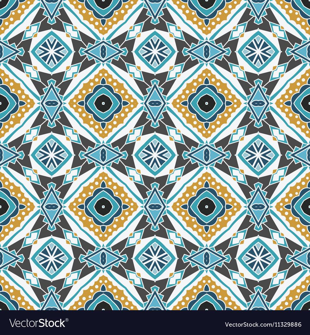 Damask seamless tiles design Royalty Free Vector Image