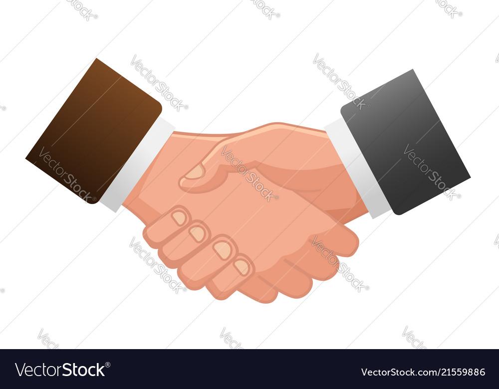 Handshake icon contract icon agreement icon