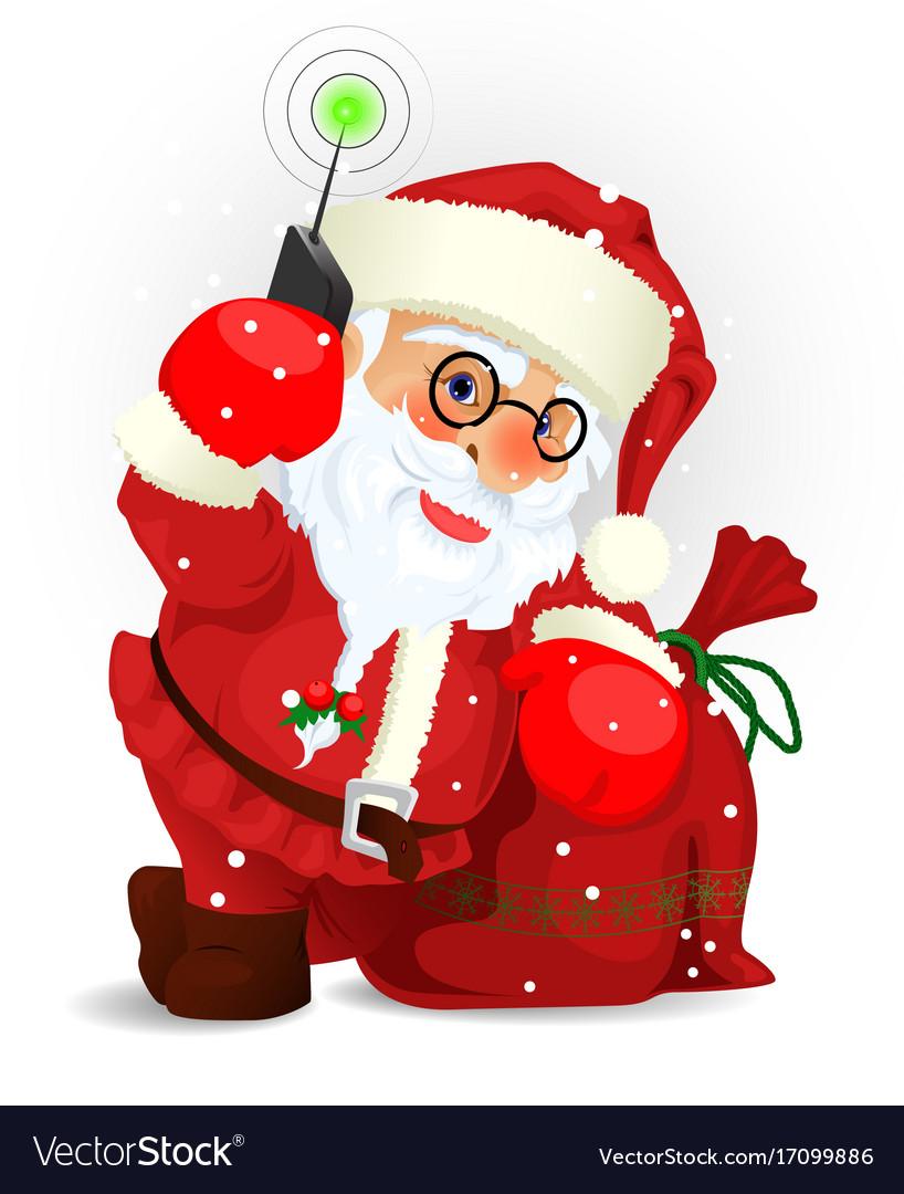 Santa clause eps 10 vector image
