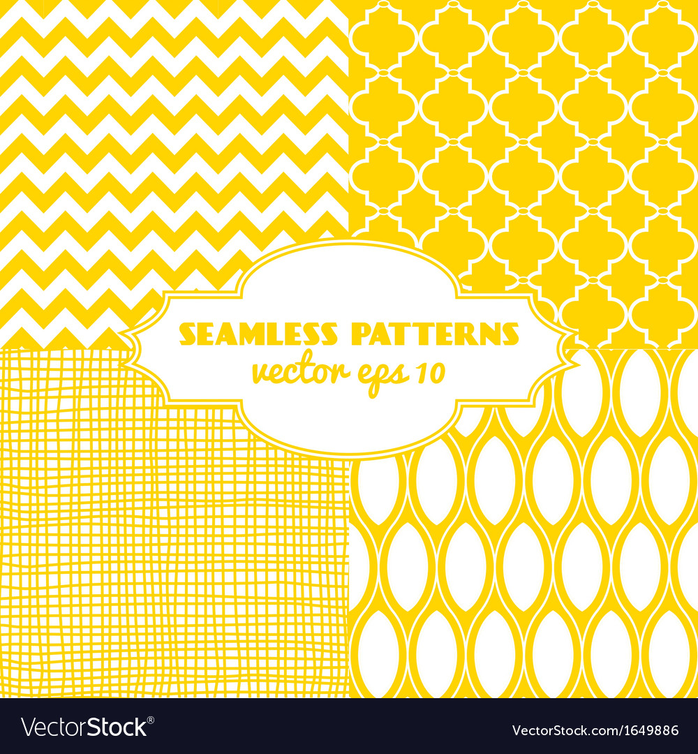 Set of sweet seamless patterns