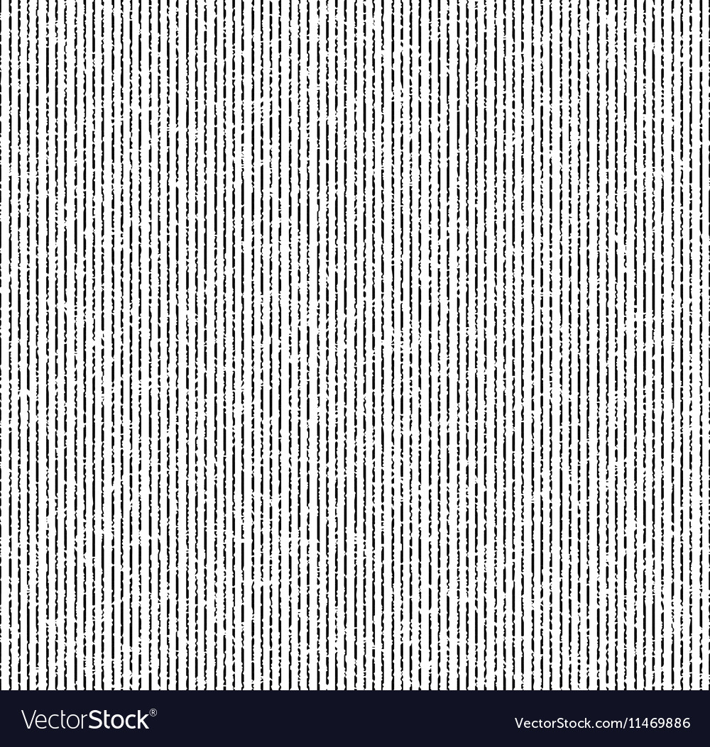 The pattern of thin black grunge stripes vector image