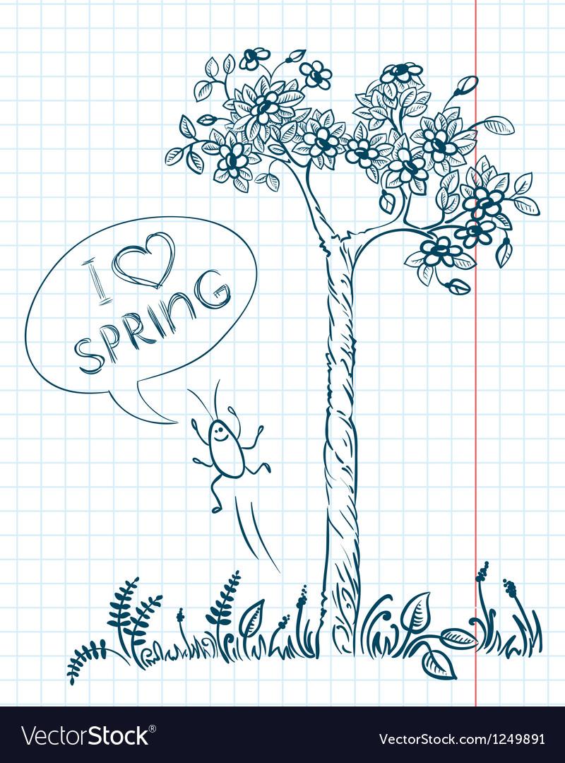 Doodle spring