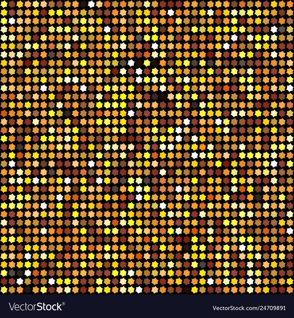 Golden vintage shiny new year background