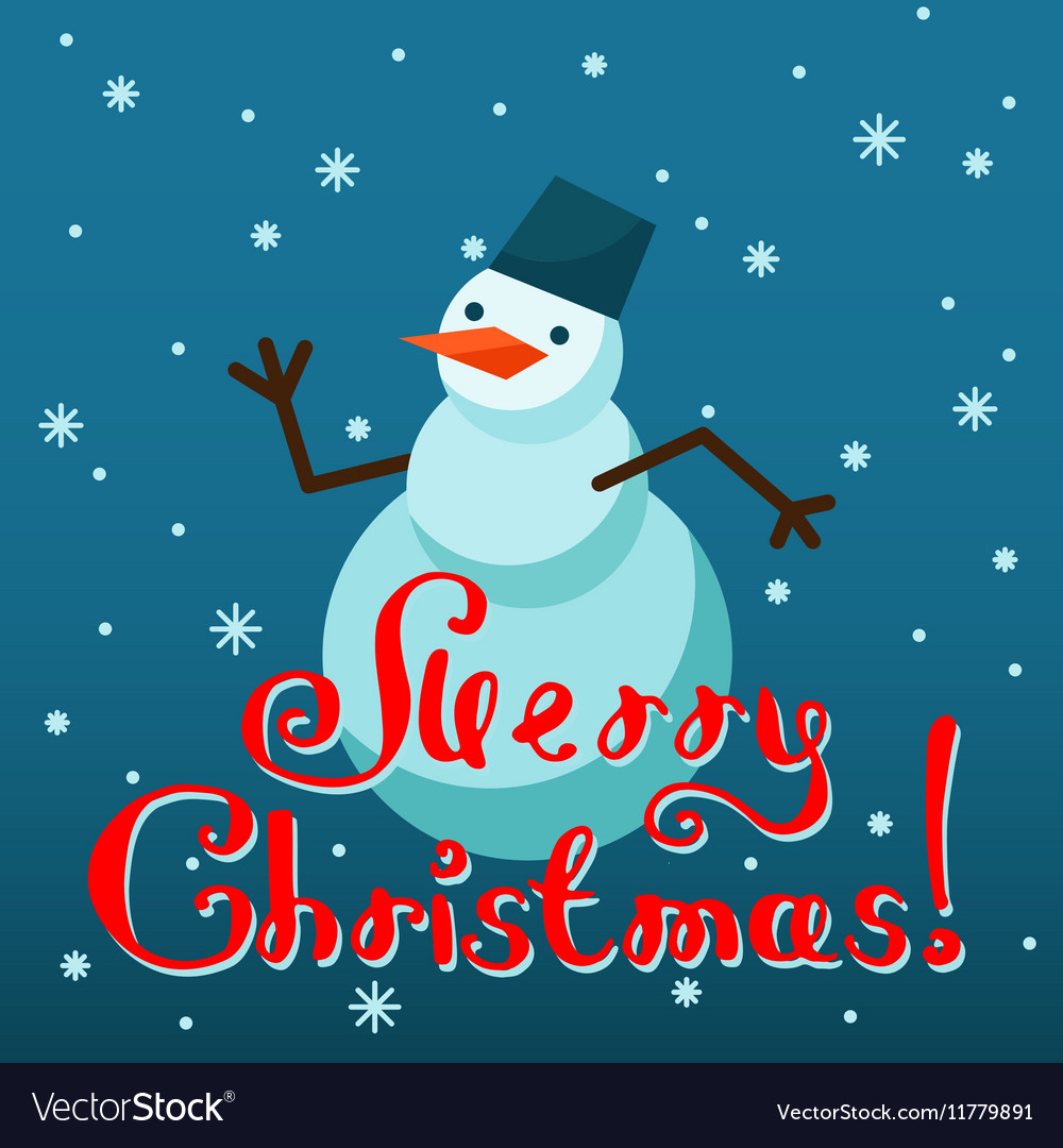 Mery Christmas.Mery Christmas Greeting Card Design