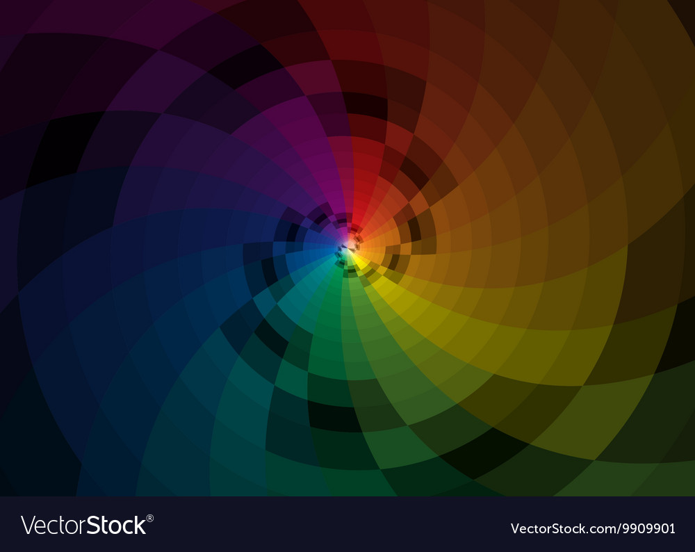 Color spiral background