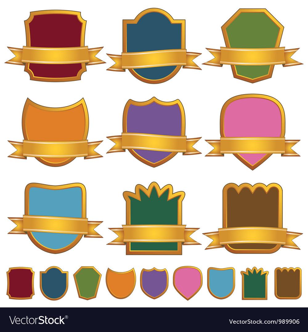 Gold emblems