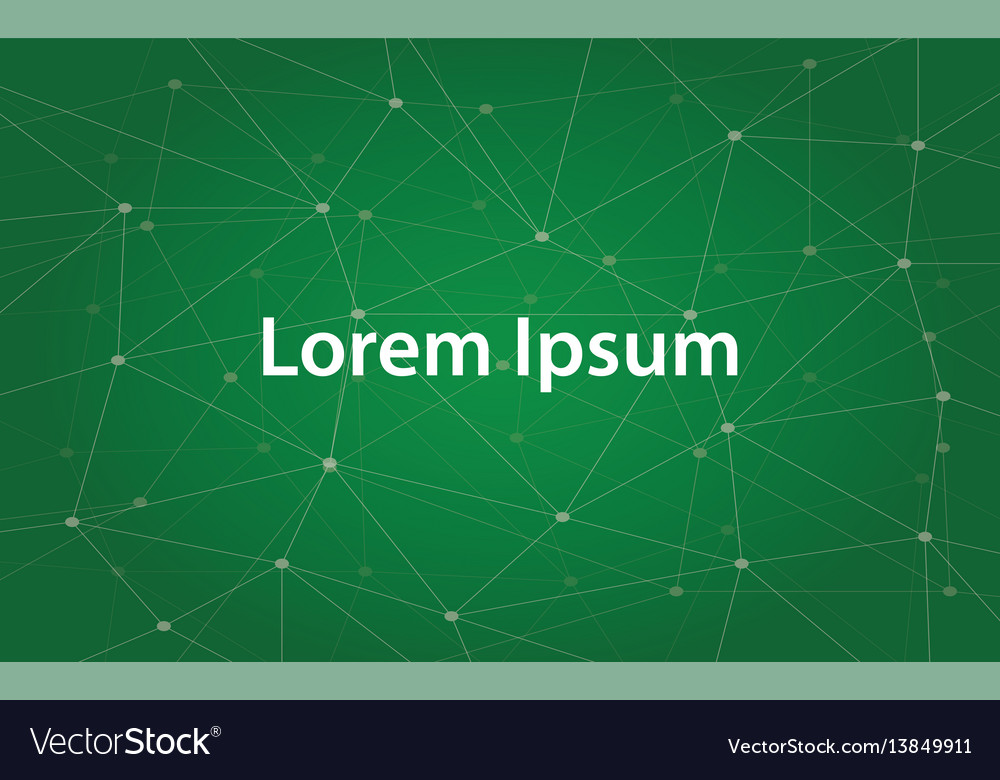 Text of lorem ipsum a text that vector image