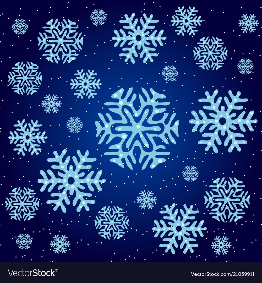 Texture on christmas theme snowflakes on a