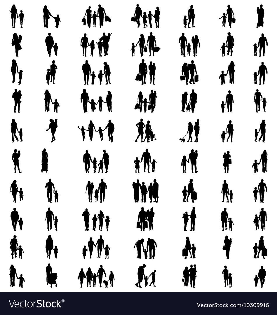 Families at walking