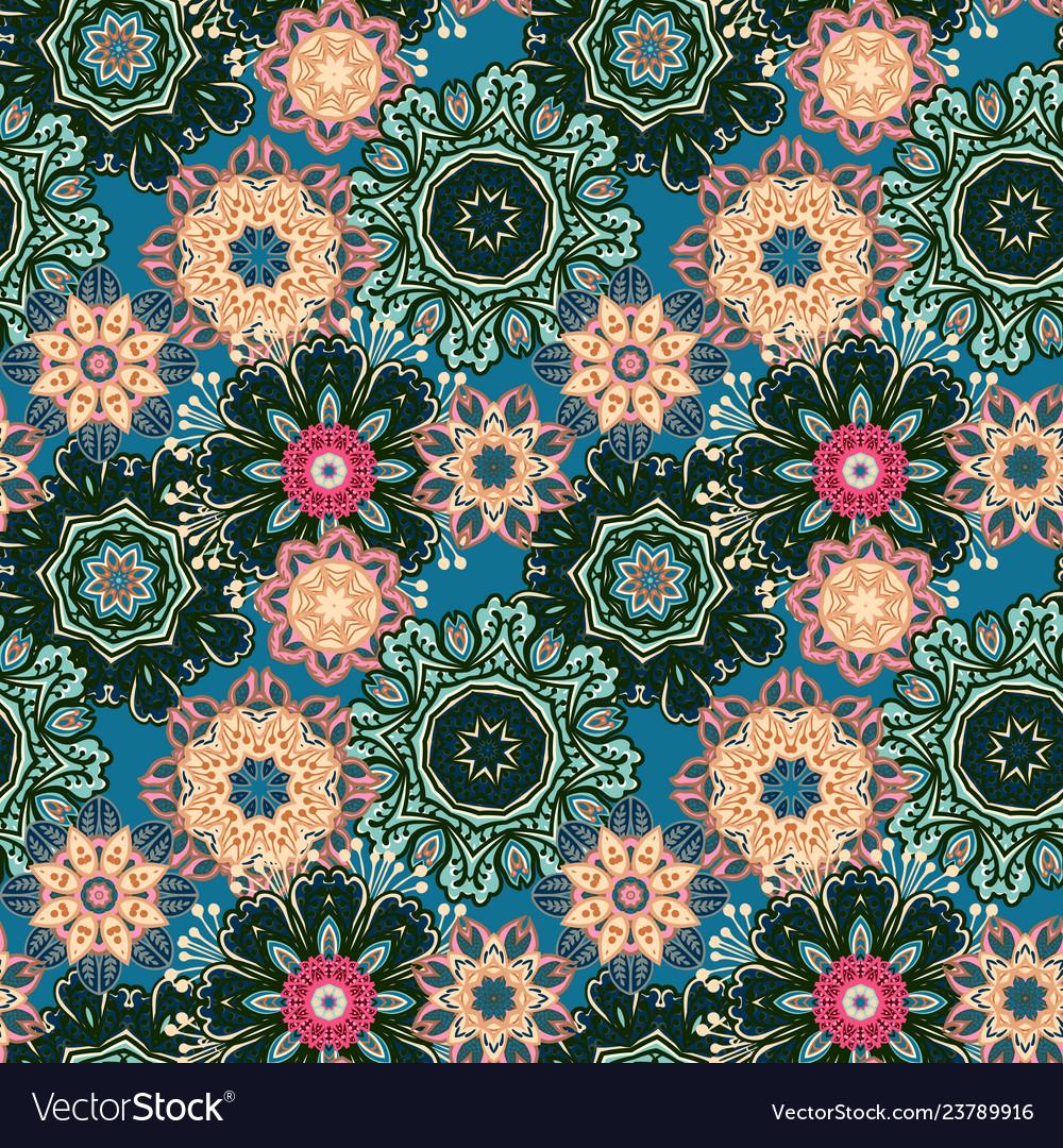 Seamless pattern texture indian arabic turkish