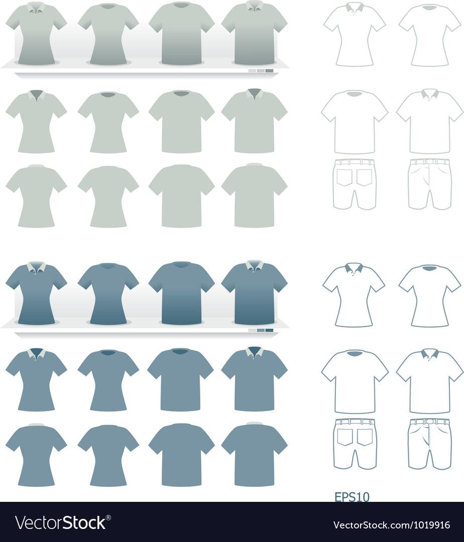 T-shirts fashion set