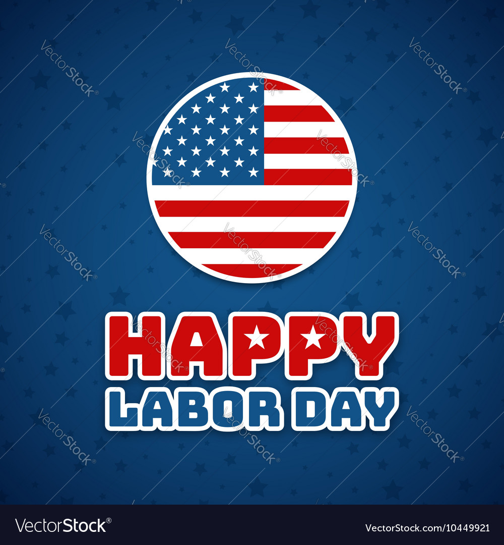 Labor day Holiday in United States celebrated on