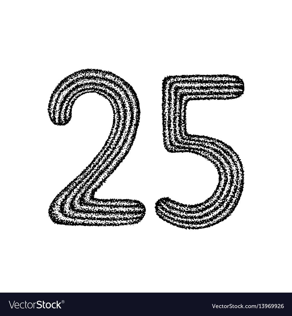 Dotwork twenty five