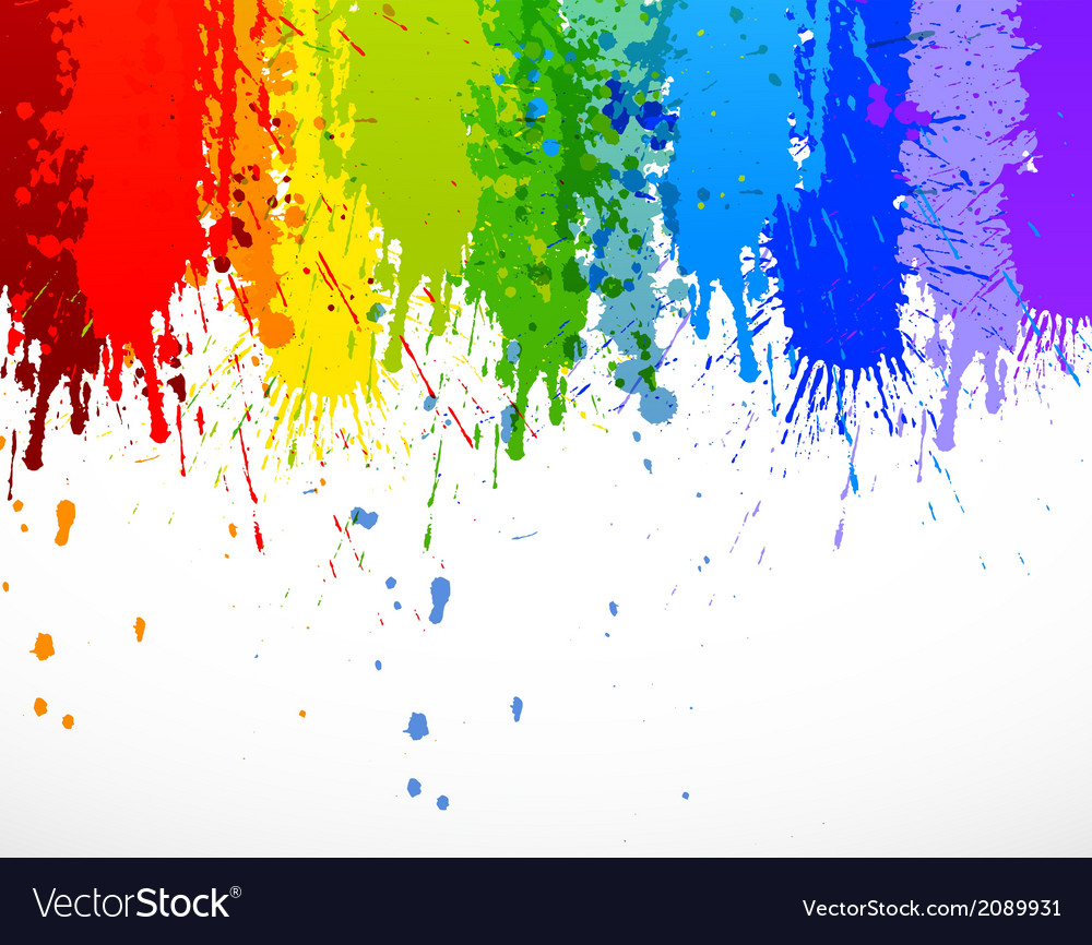 Abstract Rainbow Background Royalty Free Vector Image