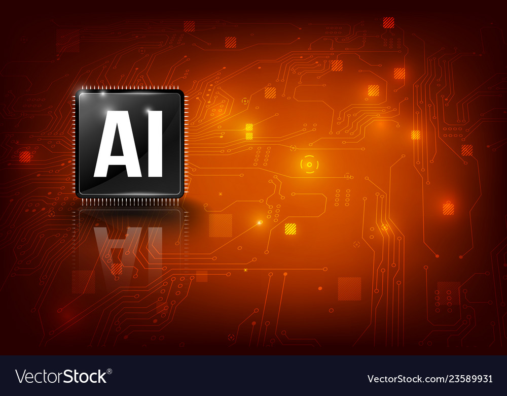 Ai artificial intelligence technology cpu chipset