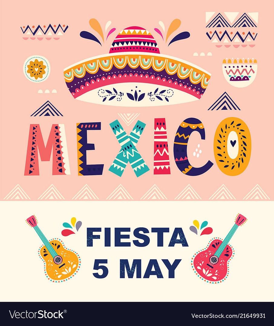Mexican holiday 5 may cinco de mayo