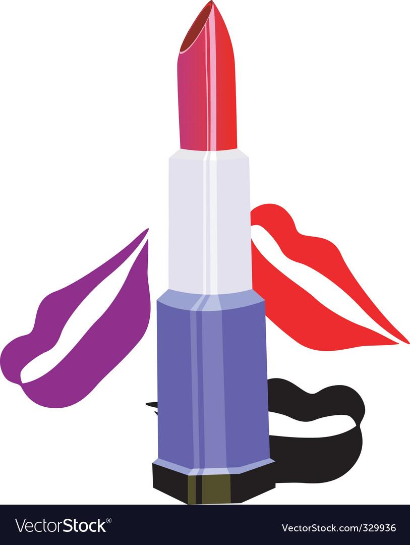 Lipstick vector image