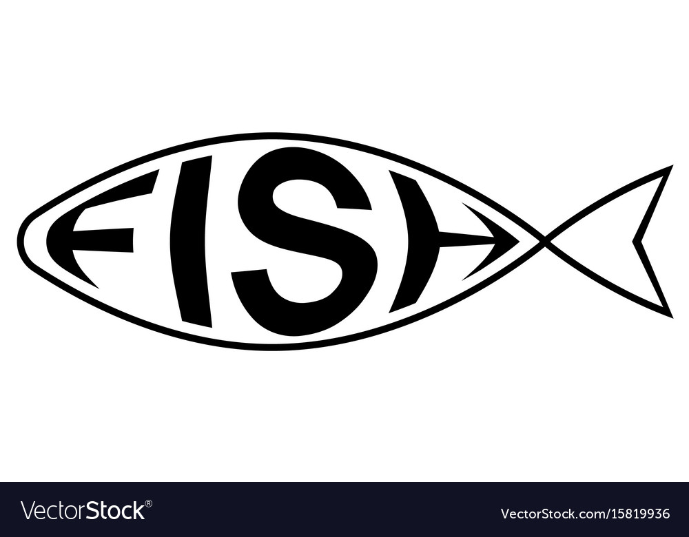 Logo is fish shop with text fish inside