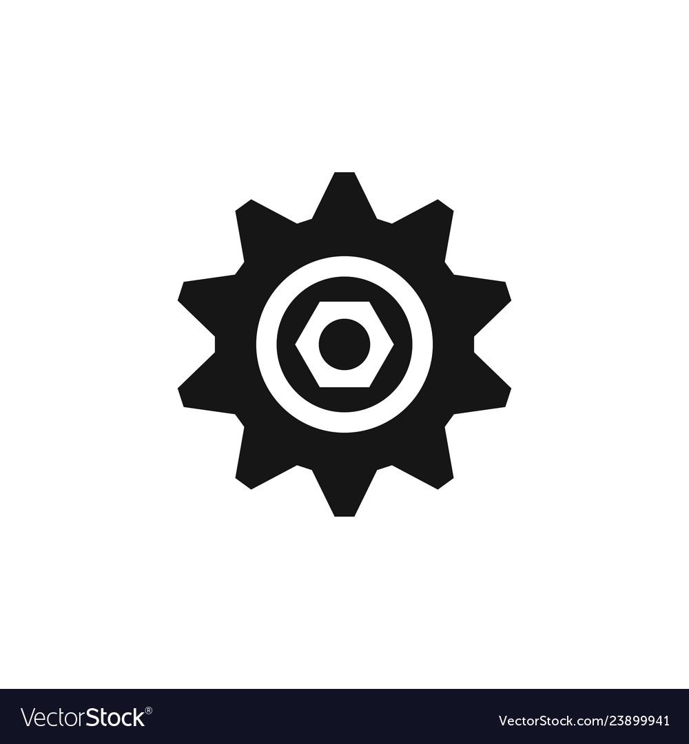 Cog cogwheel repair tool repair icon