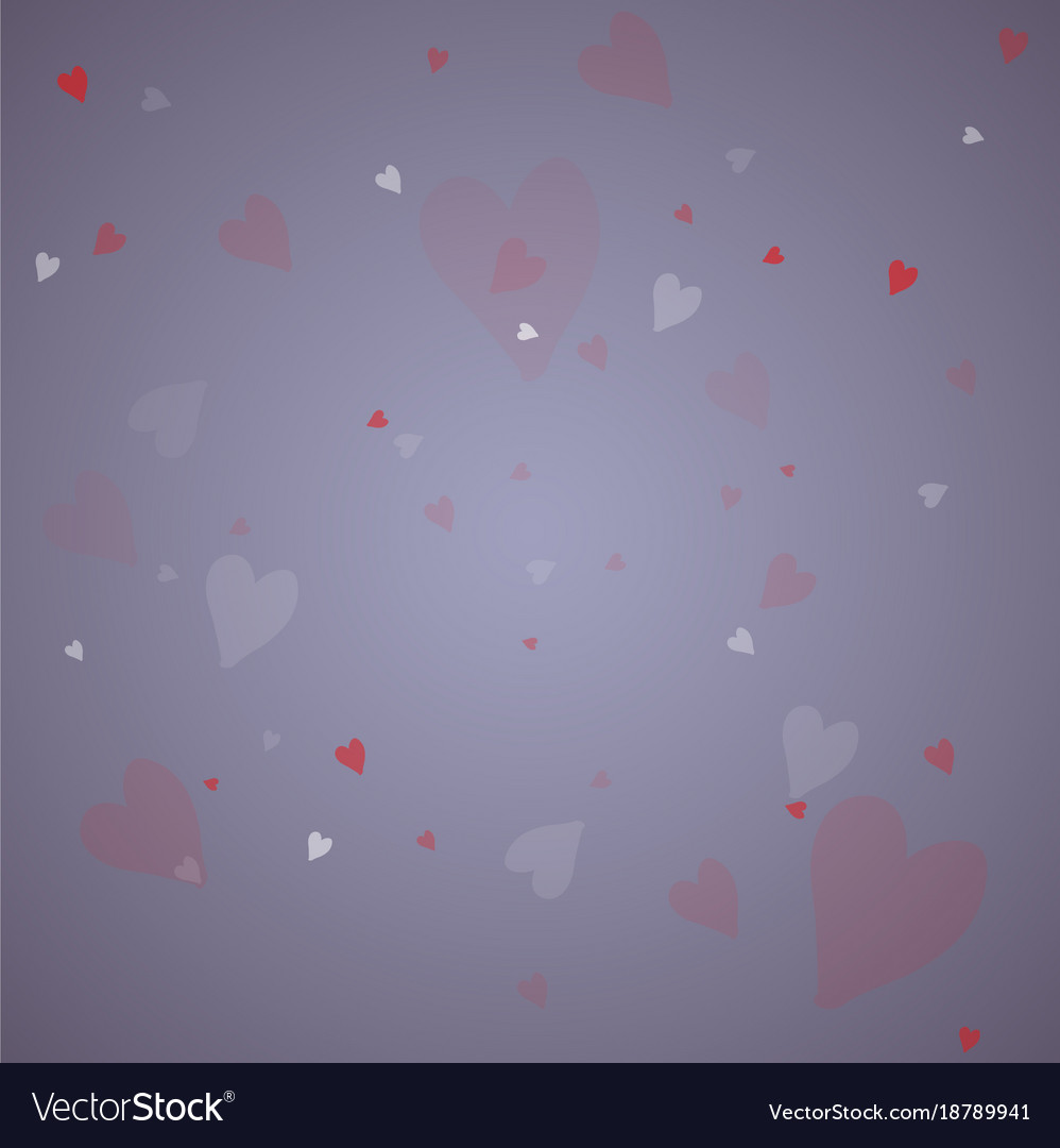 Hearts design elements valentine