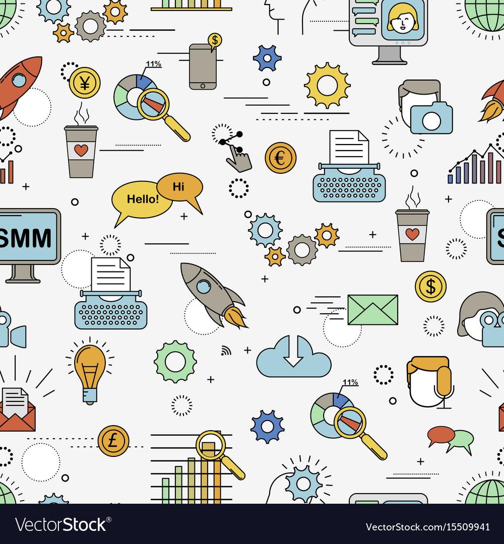 Social media marketing pattern