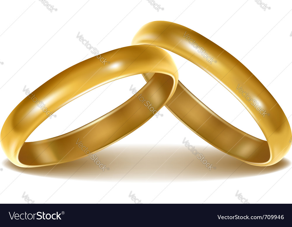 Description Background with wedding rings Vector illustration