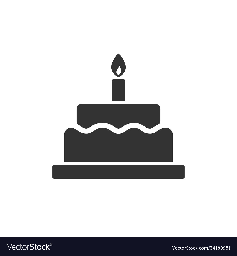 Birthday cake with candle images