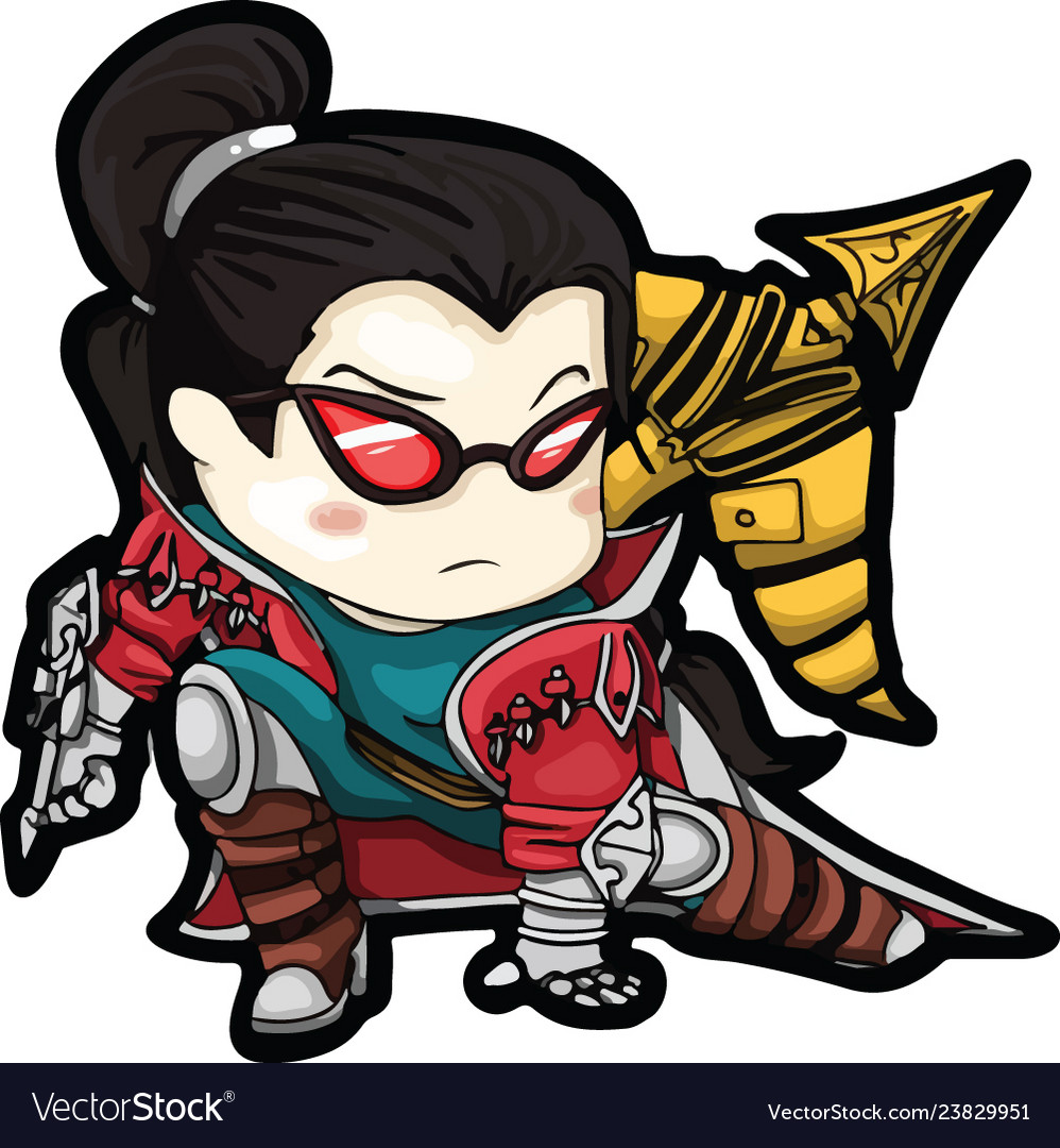Vayne From League Of Legends Royalty Free Vector Image