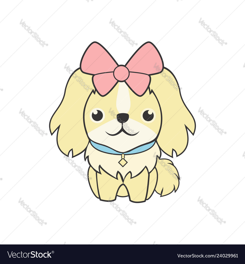 Cute feminine dog