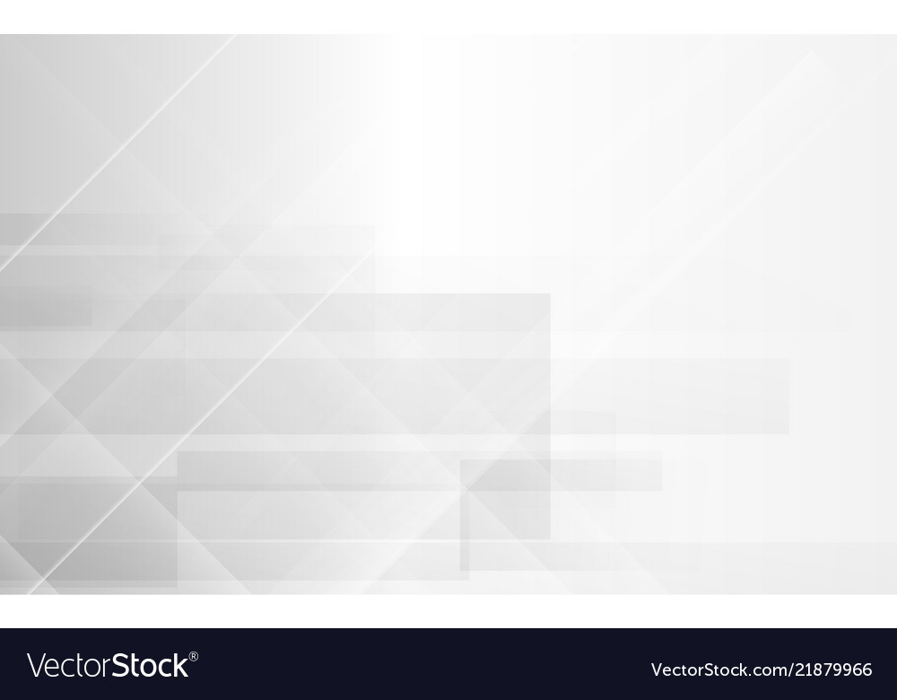 White abstract modern geometric background