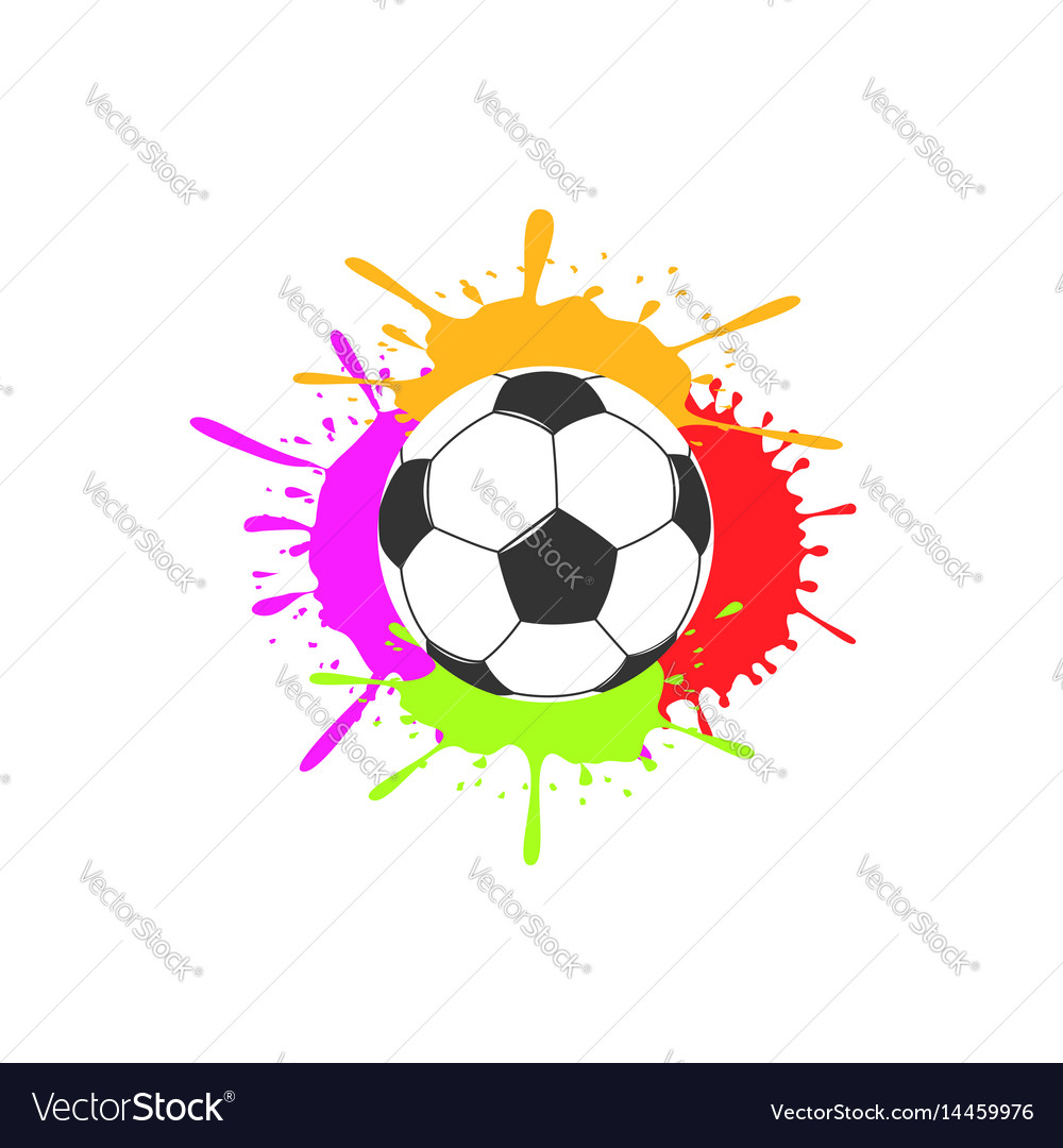 Art soccer ball