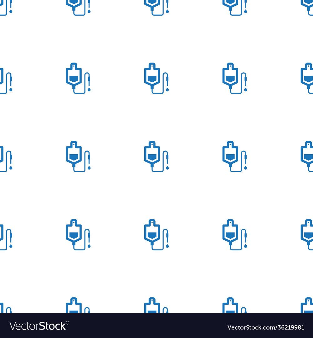 Drop counter icon pattern seamless white