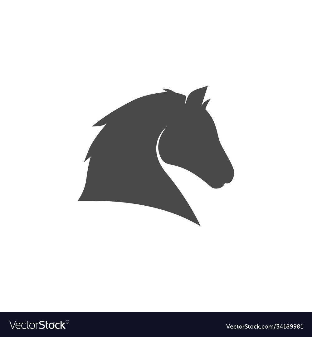 Horse head icon images