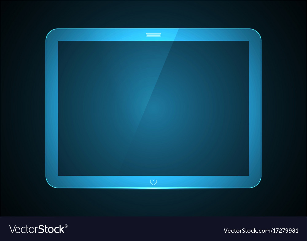 Technology future computer tablet