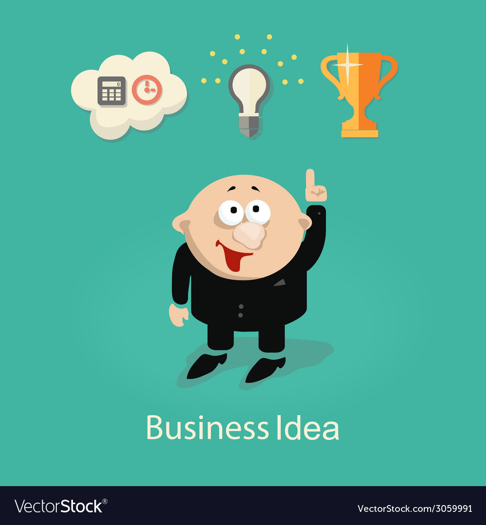 Businessman and idea info graphic with gears hand