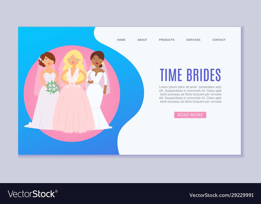 Wedding planning website template