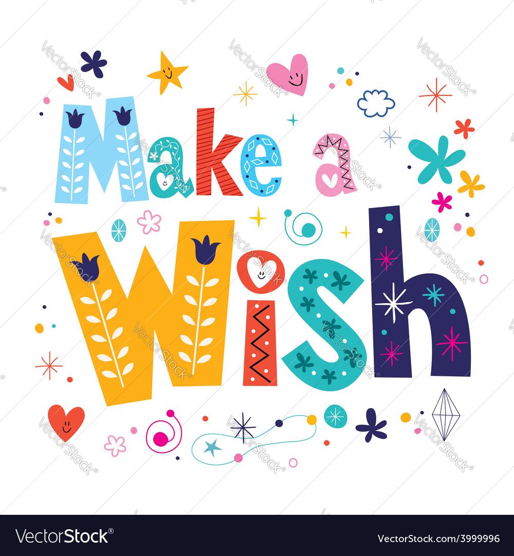Make a Wish Clip Art