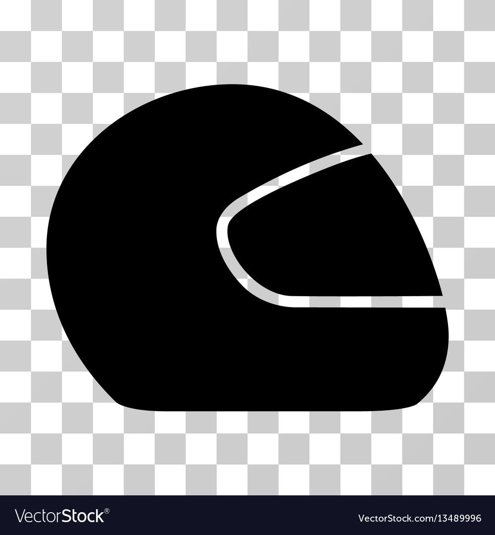 Motorcycle helmet icon vector image