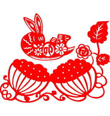 Chinese New Year Rabbit Vector. Artist: mylefthand; File type: Vector EPS
