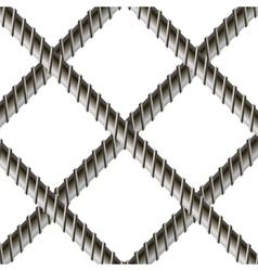 Rebars Reinforcement Steel Armature vector image vector image