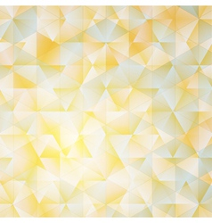 Warm abstract triangular background with filter vector image