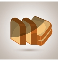 bakery product design vector image