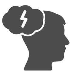 Brainstorm icon vector