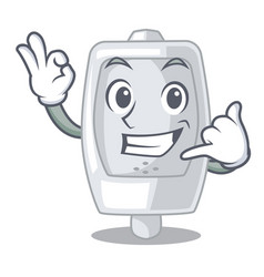 Call me interior urinal in the a character vector