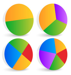 Pie chart pie chart pie graph elements vector