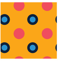 Polka dots seamless pattern vector