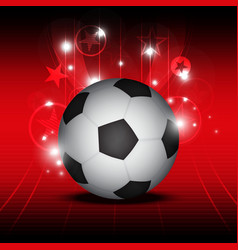 Soccer festival background vector
