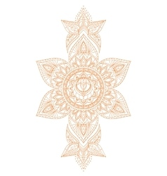 Svadhisthana Chakra Mandala vector